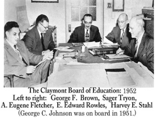 Claymont School Board