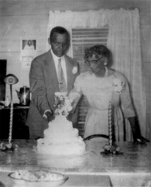 Joy Cabarrus Speakes' grandparents, Mr. and Mrs. Morton